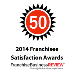 2014 Franchise Business Review Satisfaction Award Winner Direct Mail Marketing Franchise