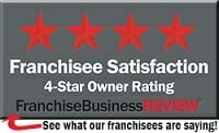 Franchise Business Review 4 Star Award 2015 Franchisee Satisfaction
