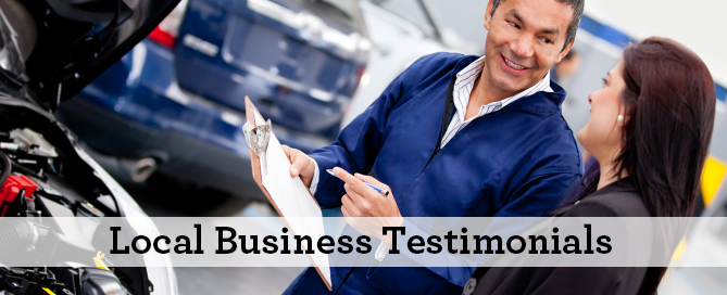 Local Business Testimonials New Mover Marketing Our Town America