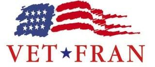 Vet Fran Logo Veteran Owned Franchise Company