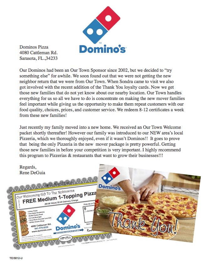 marketing dominos pizza Over the past 5 years, domino's pizza has built an impressive, and  marketing  around telling customers about technology investment.