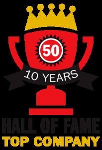 Hall of Fame Top Company
