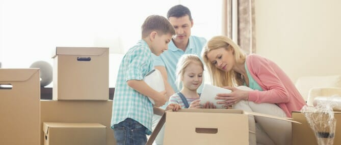 family-moving-homes
