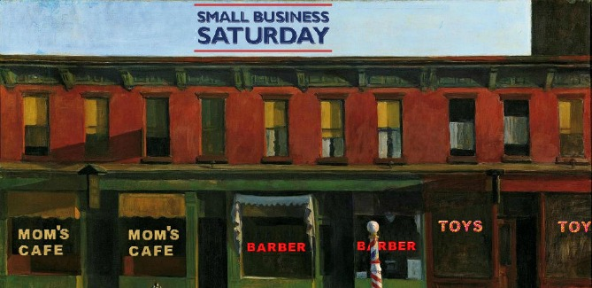 Small Business Saturday Our Town America on WUSF Radio