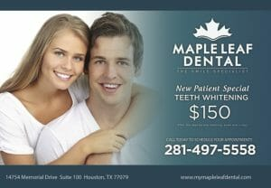 dentist postcard