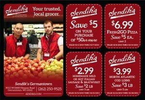 grocery postcard