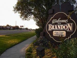 Junebrandon Welcome Sign On Brand Blvd Srbrandon Fl New Movers Our Town America Brandon Fl