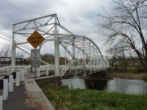 Neshanic Lenticular Truss Bridge New Movers Our Town America Branchburg Nj
