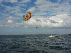 Parasailing Image Taken By Lcdr Fogle Nov In Tampa Fl New Movers Our Town America Fixed