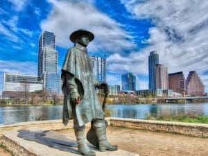 Stevie Ray Vaughan New Movers Our Town America Austin Tx