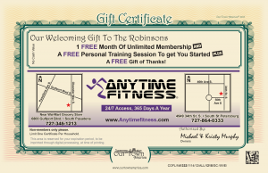 Our Town America Helps Anytime Fitness Get Customers