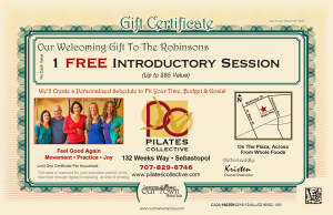 Our Town America Helps Pilates Collective Get Customers