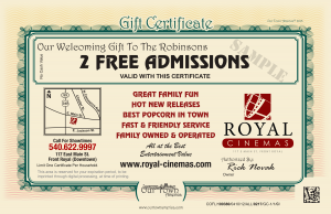 Royal Cinemas Our Town America New Mover Marketing