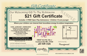 Ultimate PlayZone Our Town America New Mover Marketing