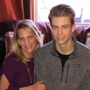 Kristen Lundgren Our Town America Franchisee and Son