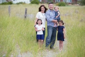 Kurt North with Family Our Town America Northern Colorado Franchise Owner