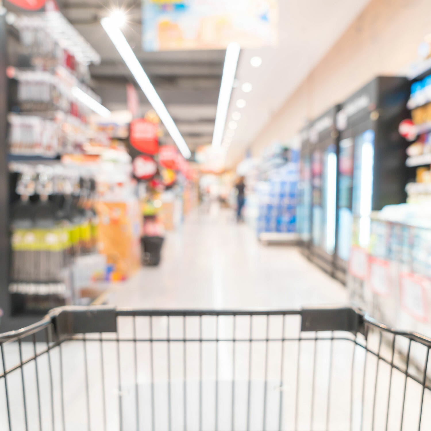 Finding a new grocery store can be a top priority after a move.