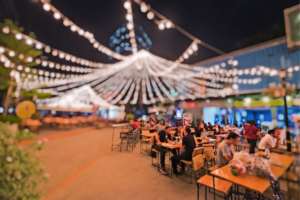 69 percent of Millennials want to be near food festivals