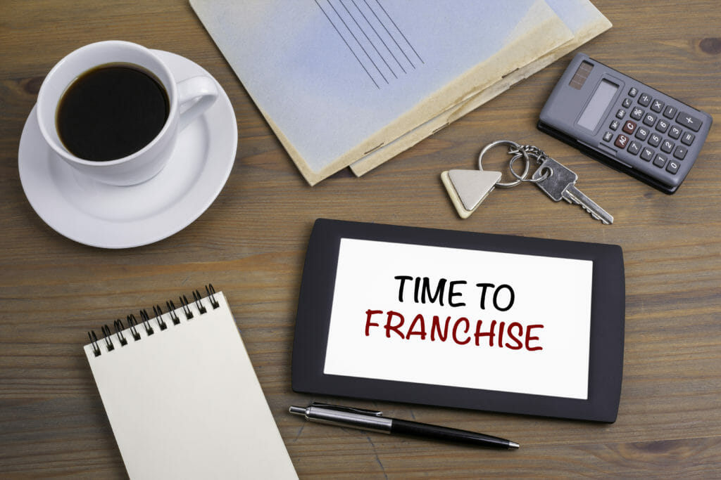 Time to Franchise John Groppoli Peter Carlson Our Town America Franchise Consultants