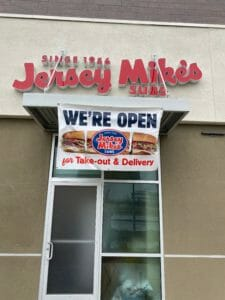 Our Town America Greater Sacramento Partnered Business Jersey Mikes Open during Coronavirus