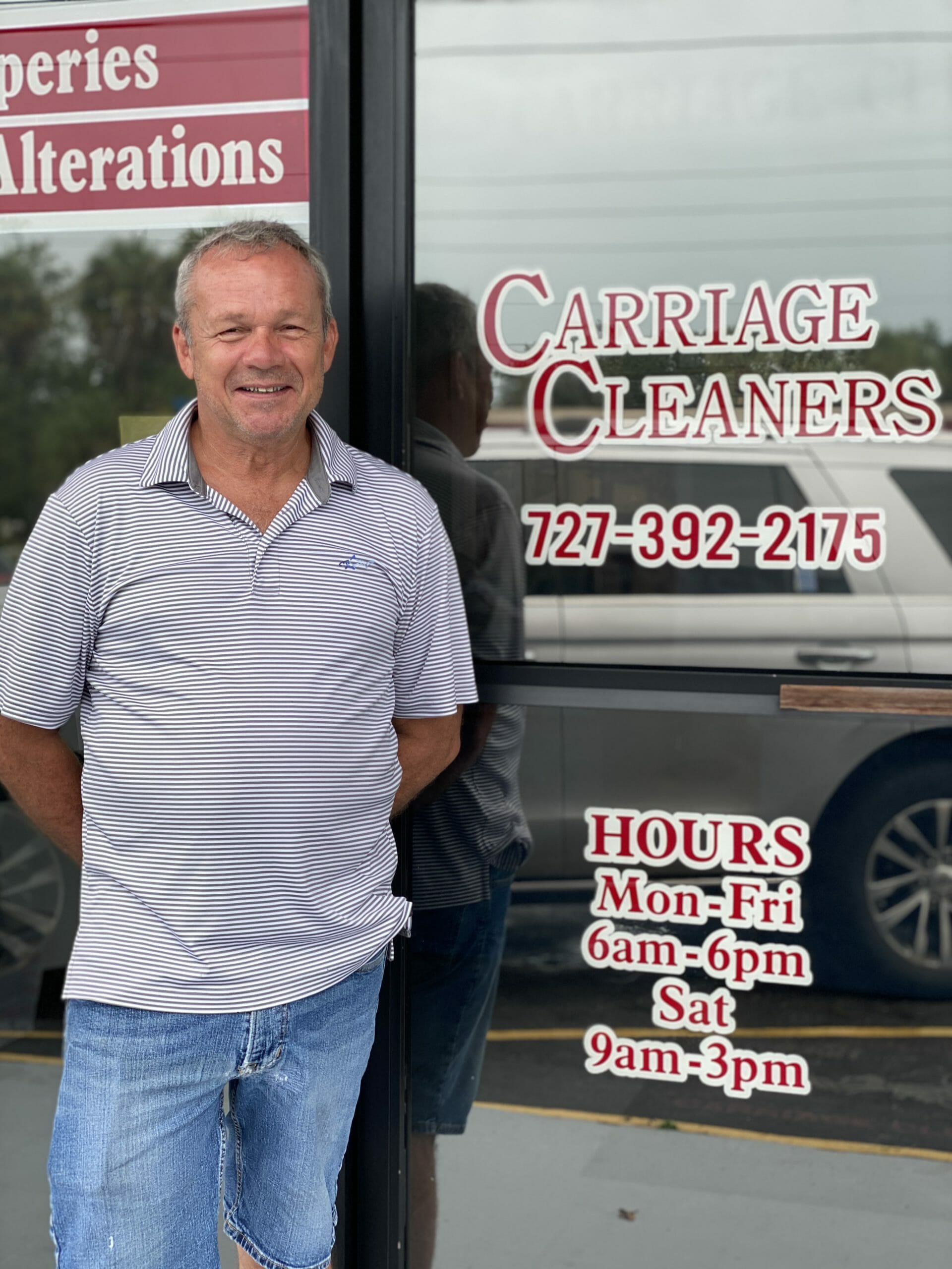Carriage Dry Cleaners Save Our Town America Marketing