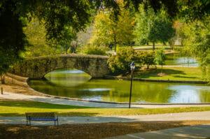 Freedom Park in Charlotte, North Carolina