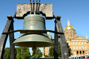 Des Moines Liberty Bell